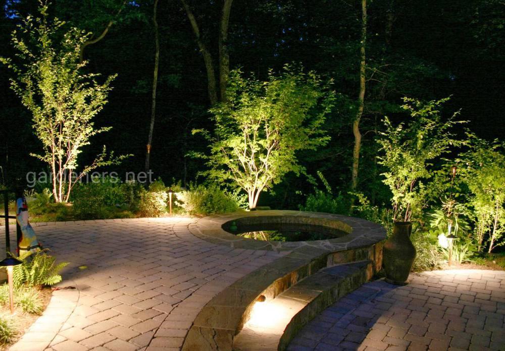 Освещения садового участка