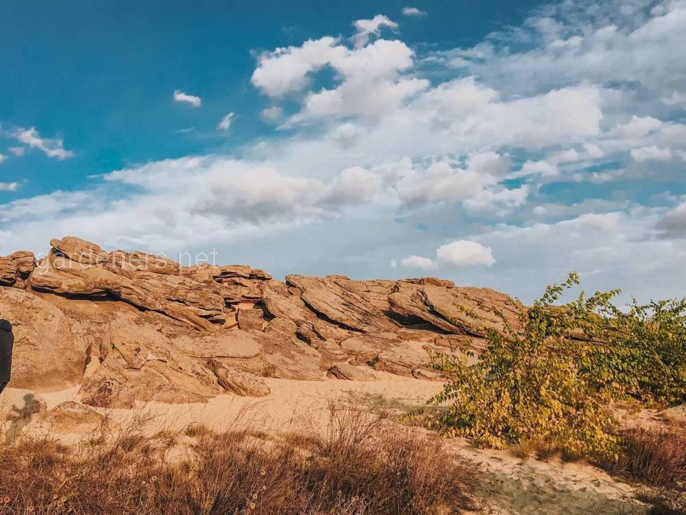 Кам'яна могила - унікальний петрографічний комплекс