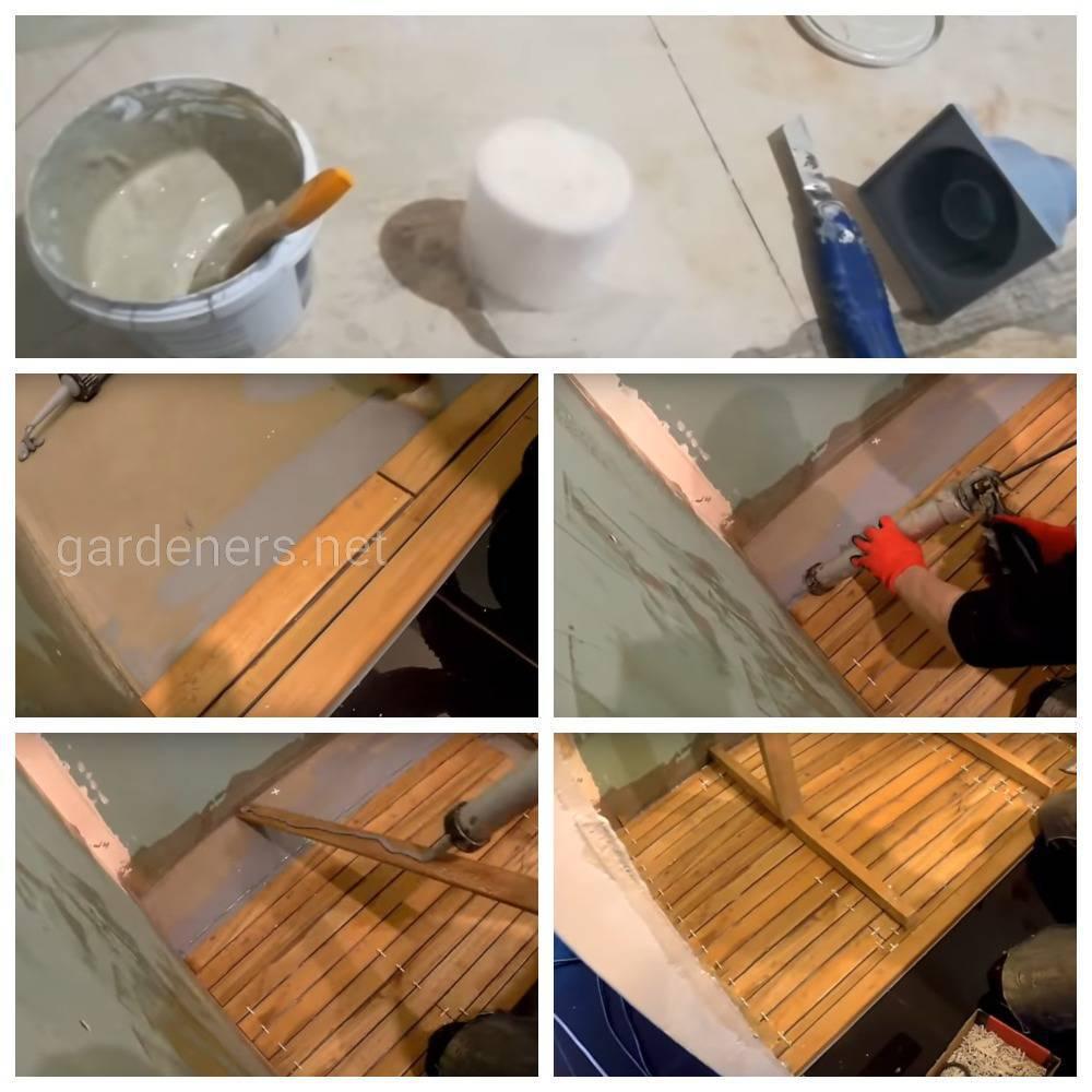 Укладка деревянного пола по палубной технологии