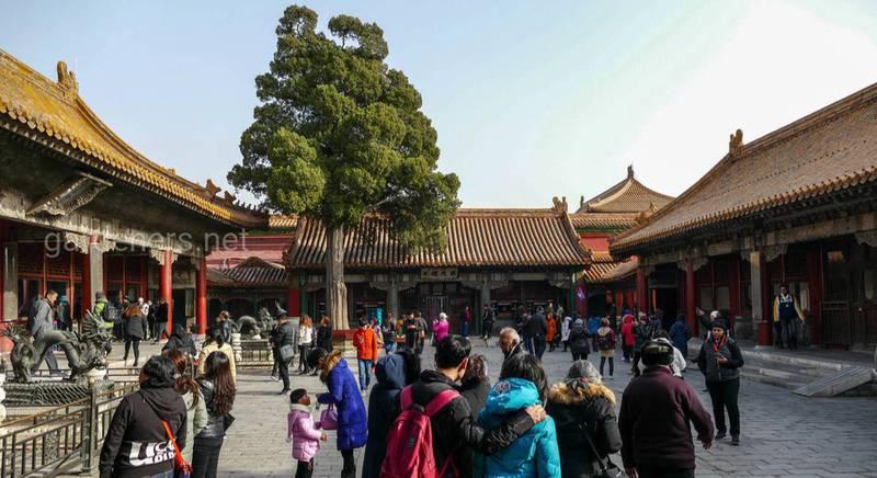 """Мы во внутренней (северной) части """"Запретного Города"""" (1426 г.). Пекин"""