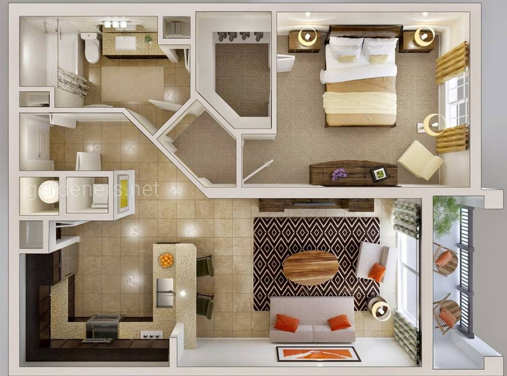 удачная планировка квартиры