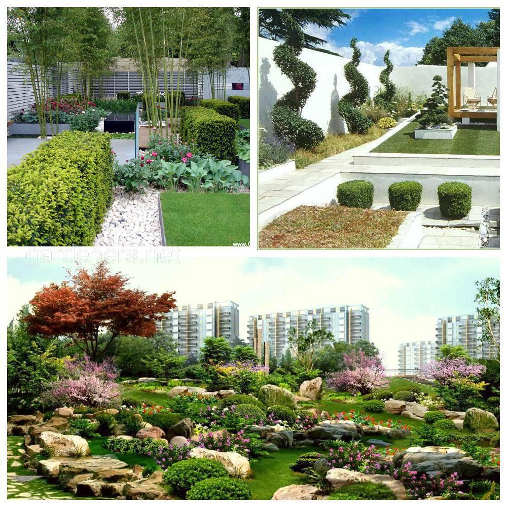 архитектурный стиль сада