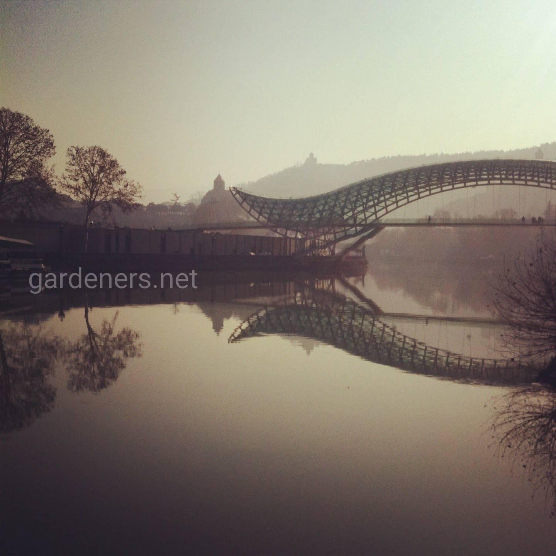 Тбилиси-сочетание природы и современной архитектуры
