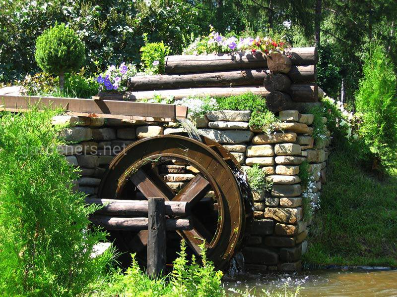 Водяные мельницы