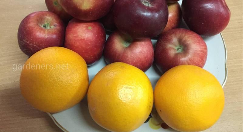 Яблочно-апельсиновый конфитюр