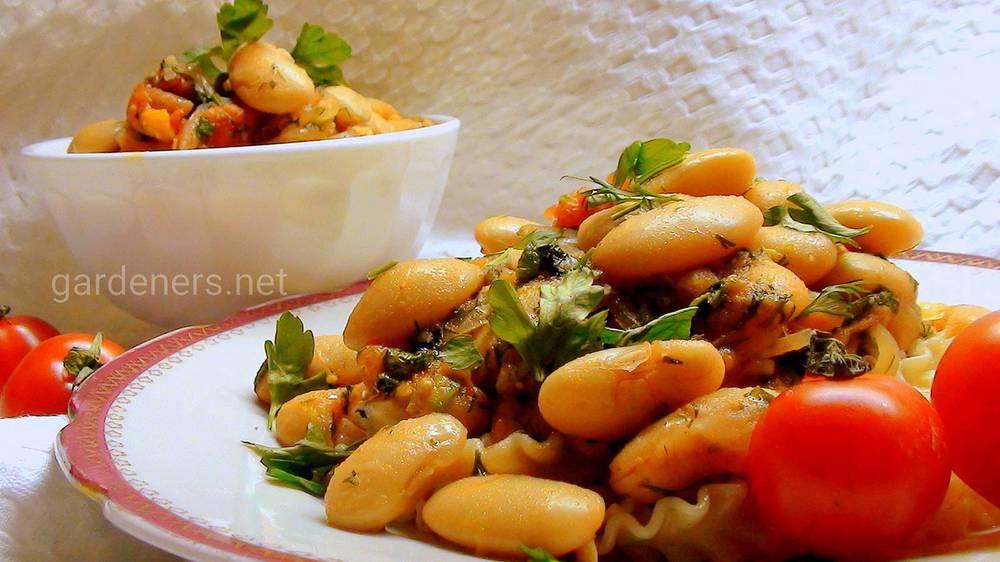 Рецепт фасоли с томатами