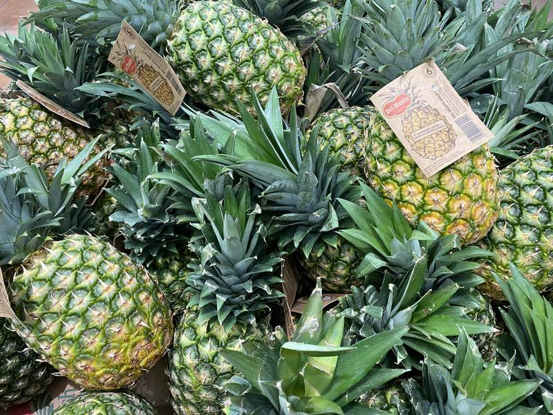 Ананас, опис фрукта