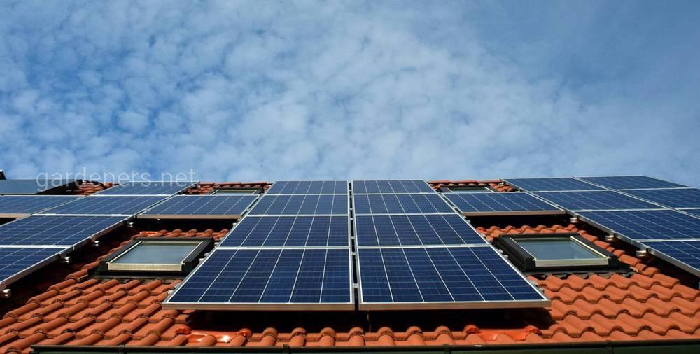 Идеальное расположение солнечных батарей на дачи
