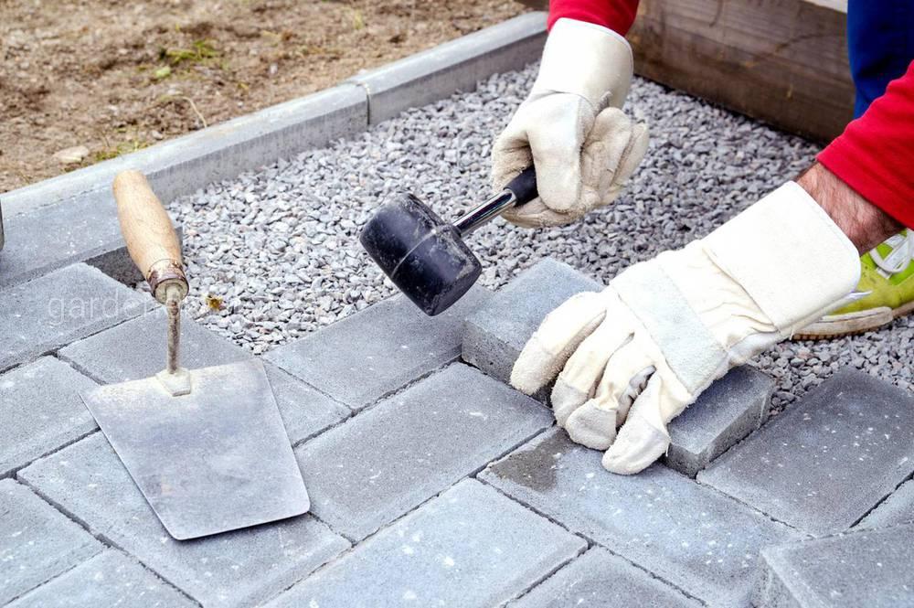 Смесь для изготовления тротуарной плитки