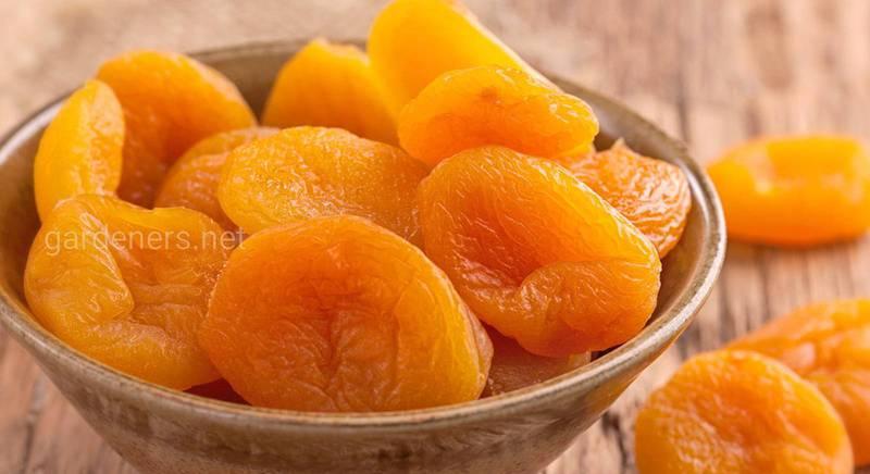 Користь та шкода сушеного абрикоса!
