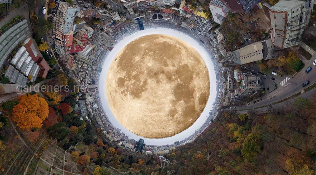 Земля - Луна