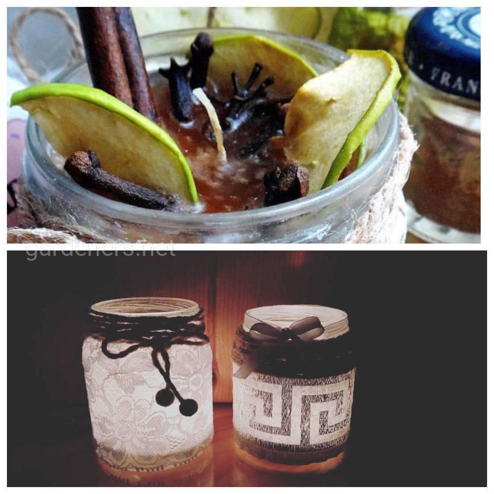 Идея № 3  свечи и подсвечники