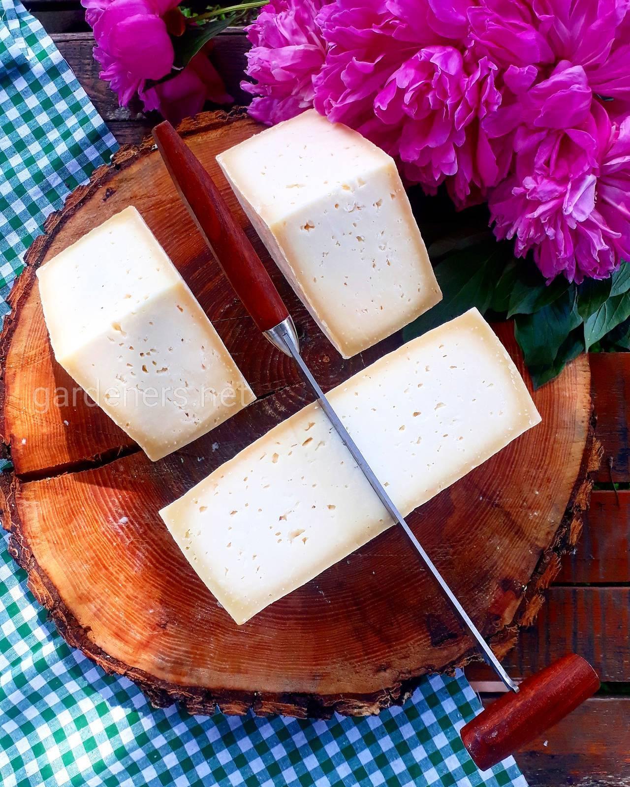 Сыр выдержанный, по голландской технологии