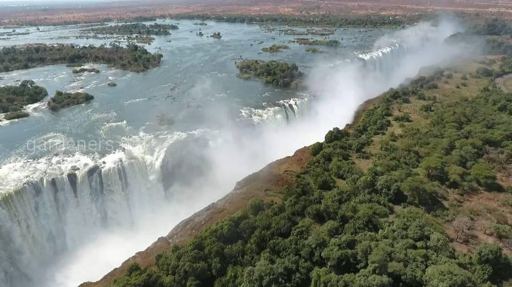 Факти про водоспад Вікторія