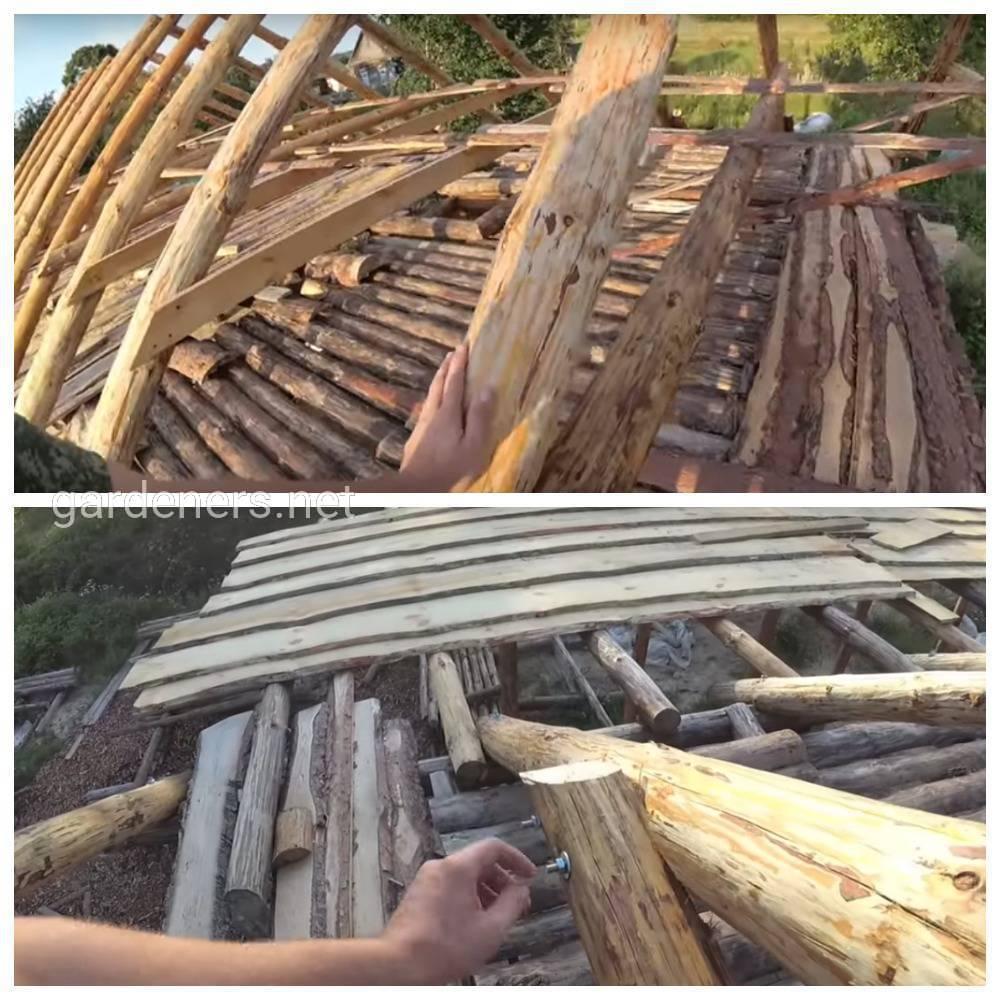 Создание каркаса крыши