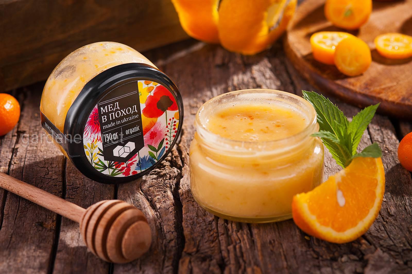 Мед в поход - медовый мусс с апельсином