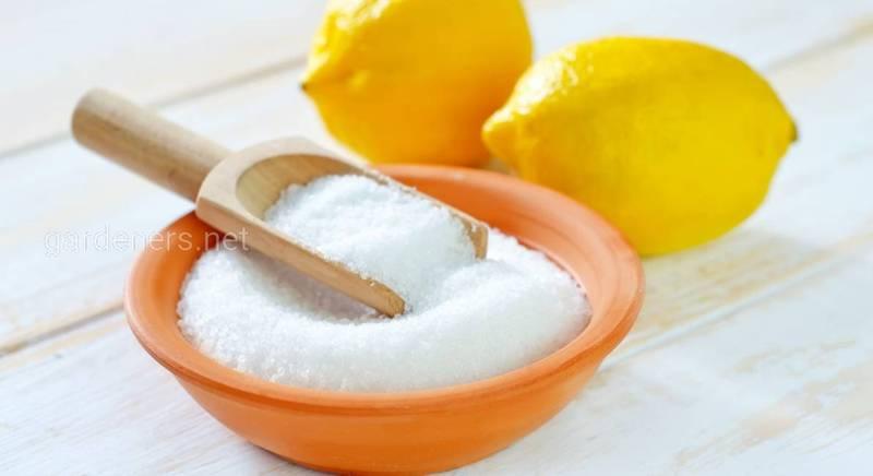 Ефективний гербіцид на основі лимонної кислоти