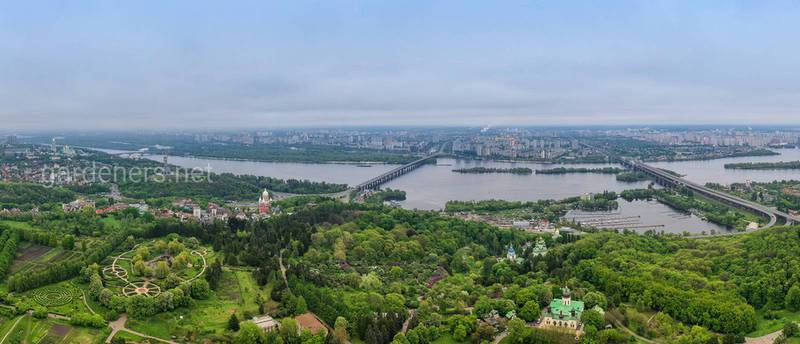 Ботанические сады Киева