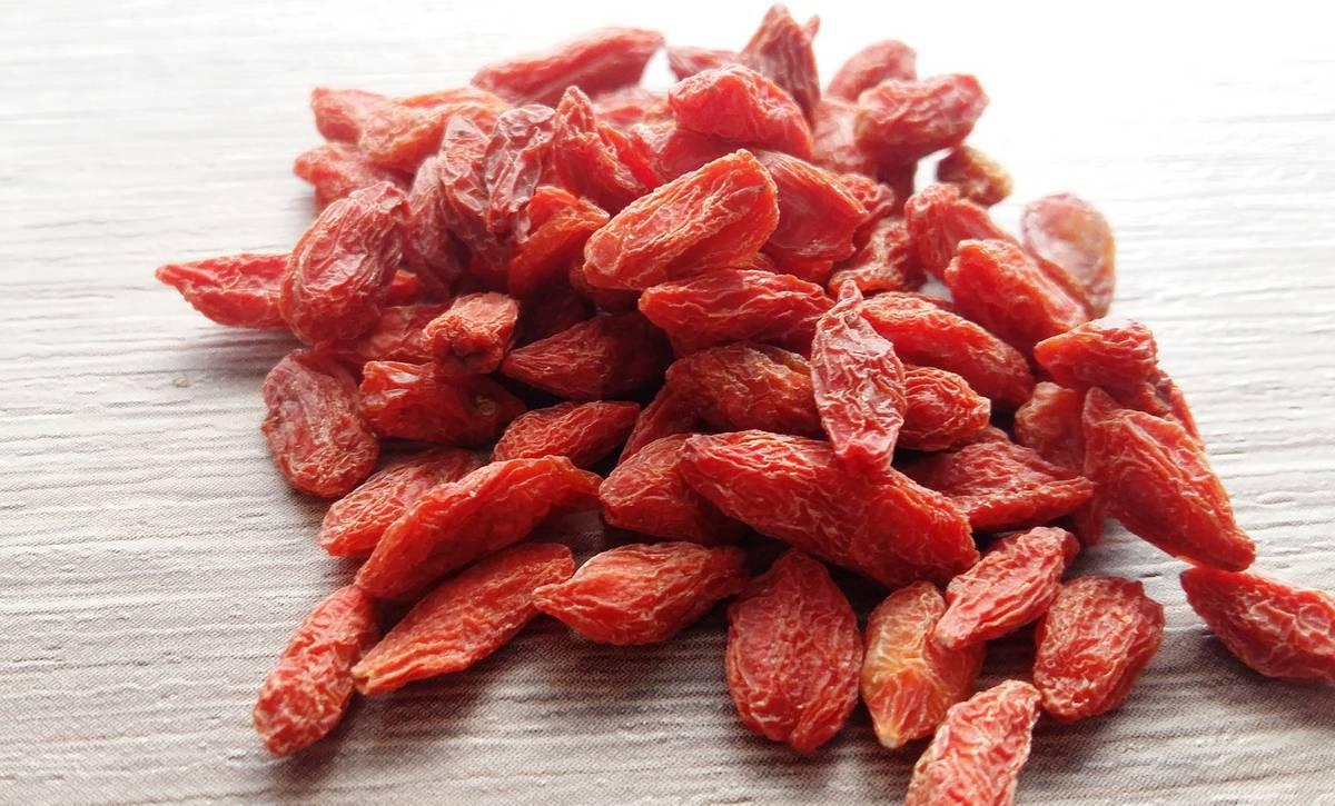 сущенные ягоды годжи