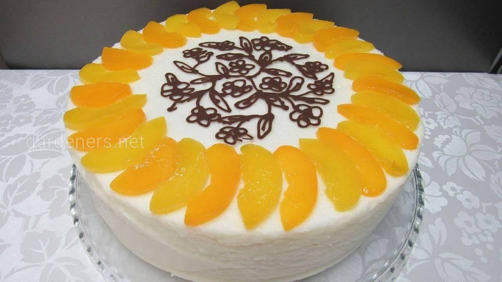 Желейный торт Йогуртовый