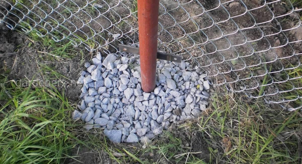 Столбы без бетона бетонная смесь для забора