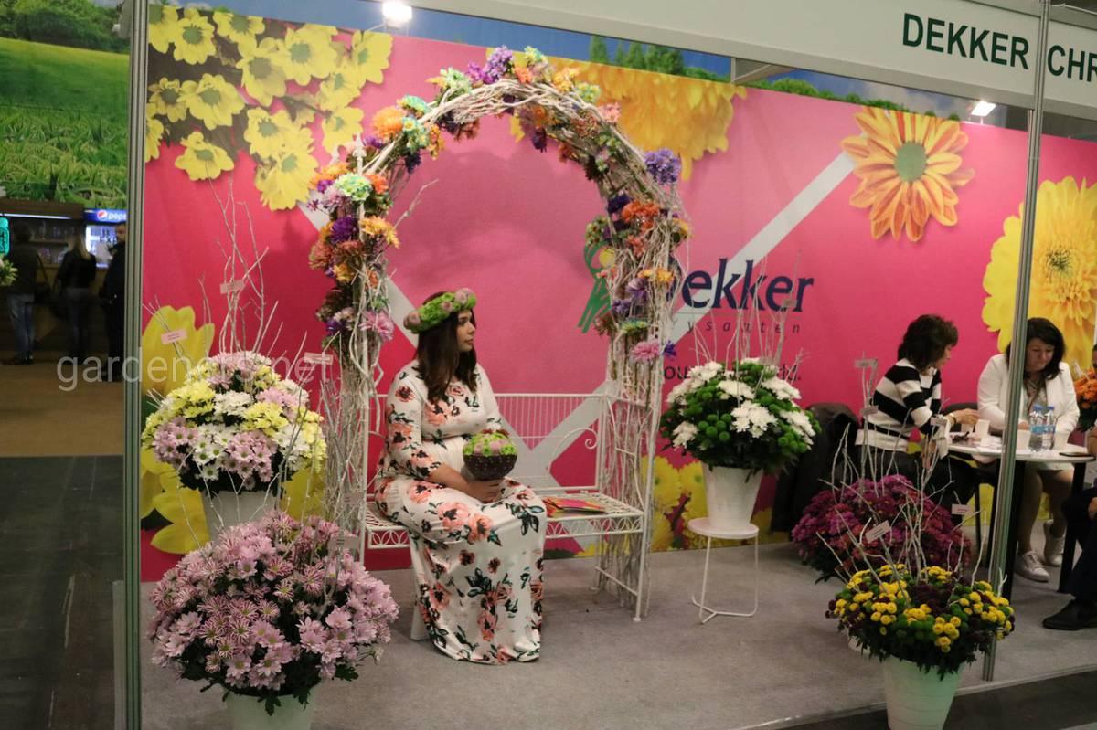 В день открытия Flower Expo Ukraine