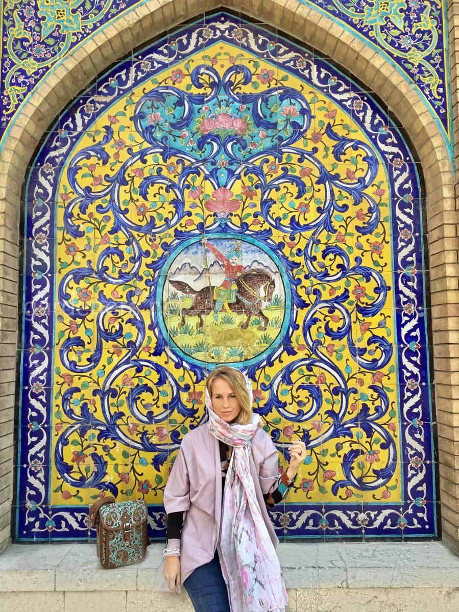 платок в Иране