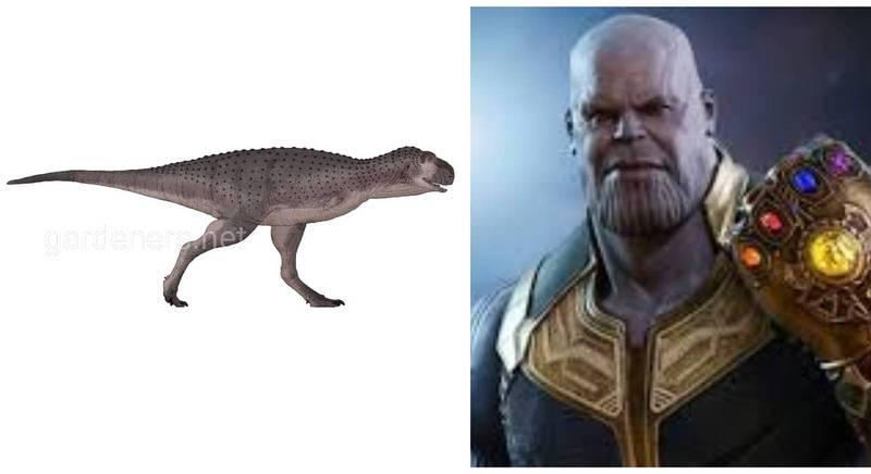 Древний хищный динозавр был представлен миру как Танос!