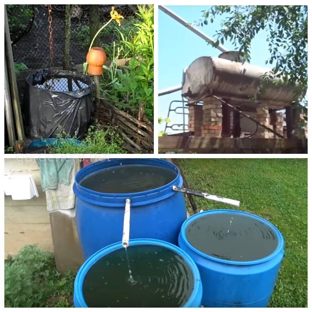 Технология сбора дождевой воды