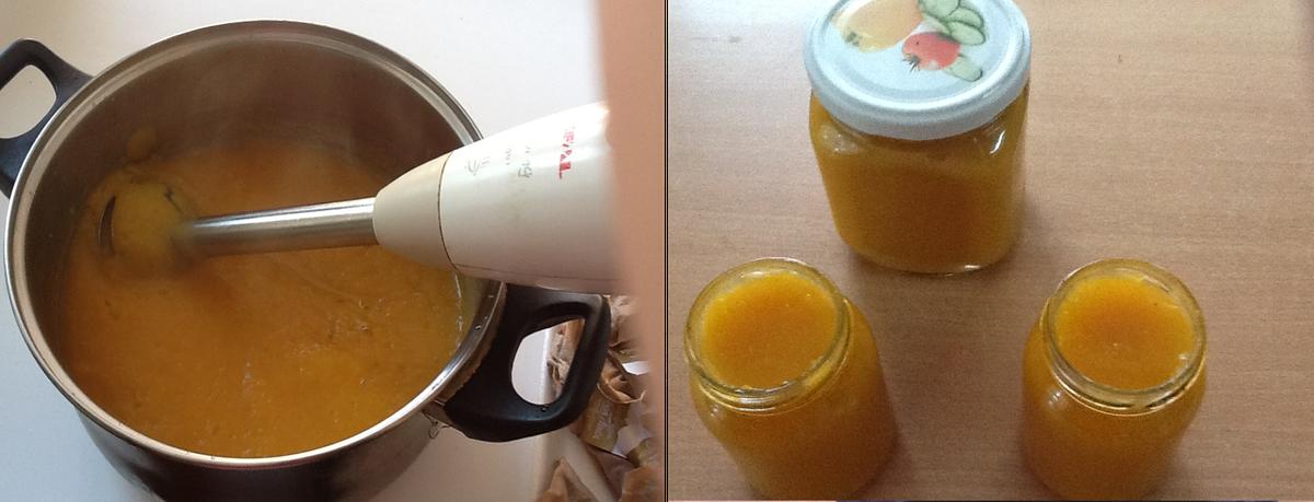 готовим детское пюре яблоки и морковь