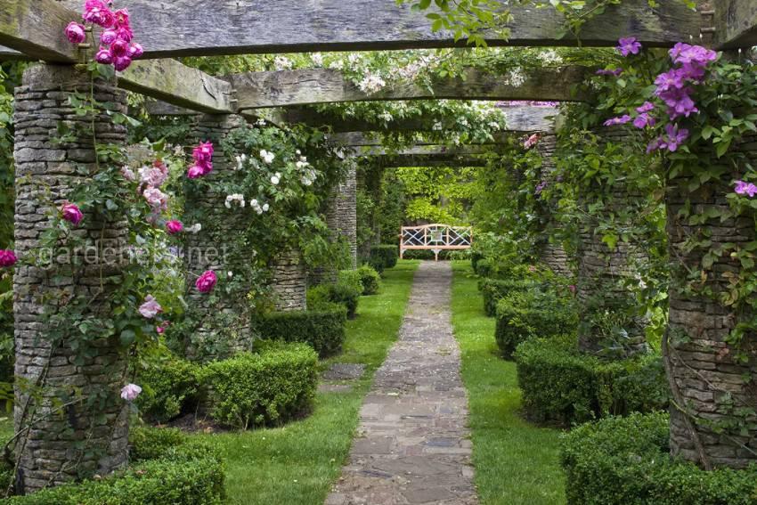 Изысканный сад принца Чарльза