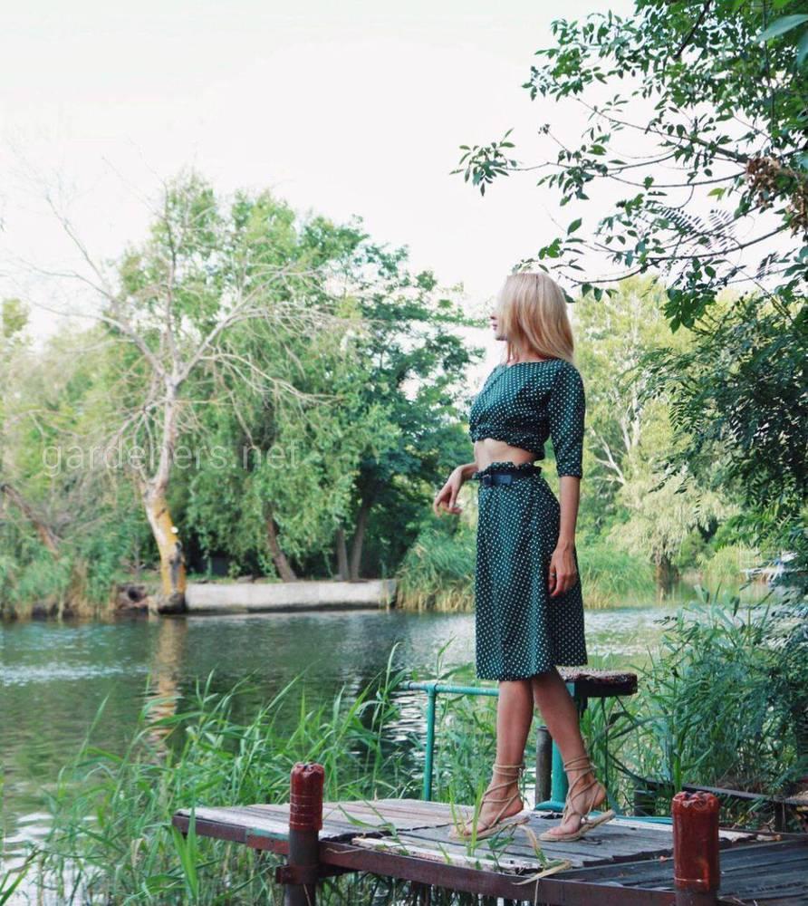Переделанный костюмчик из платья