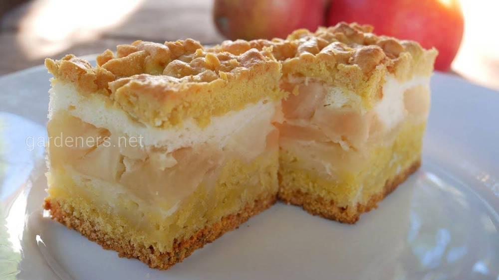 Яблочный пирог с Украины