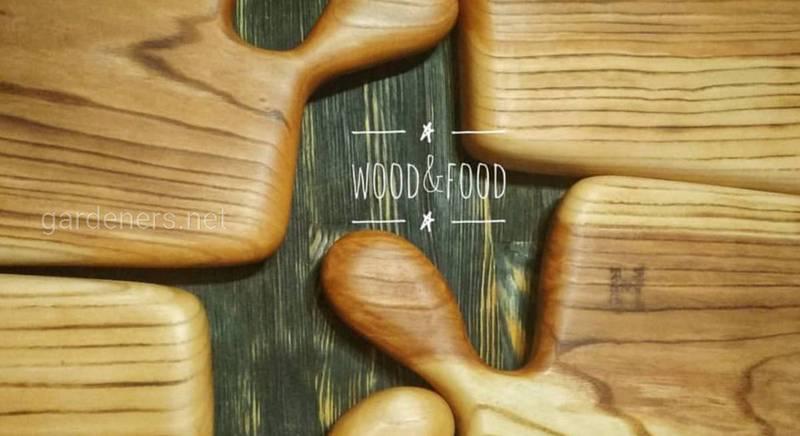 Авторские Handmade доски для подачи и сервировки