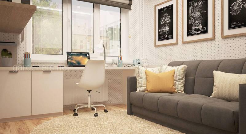 Облаштування та дизайн маленької квартири