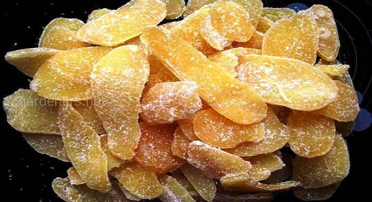 Имбирные цукаты
