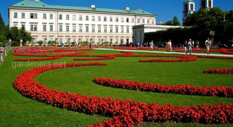 Пам'ятки і особености саду Мірабель в Зальцбурзі
