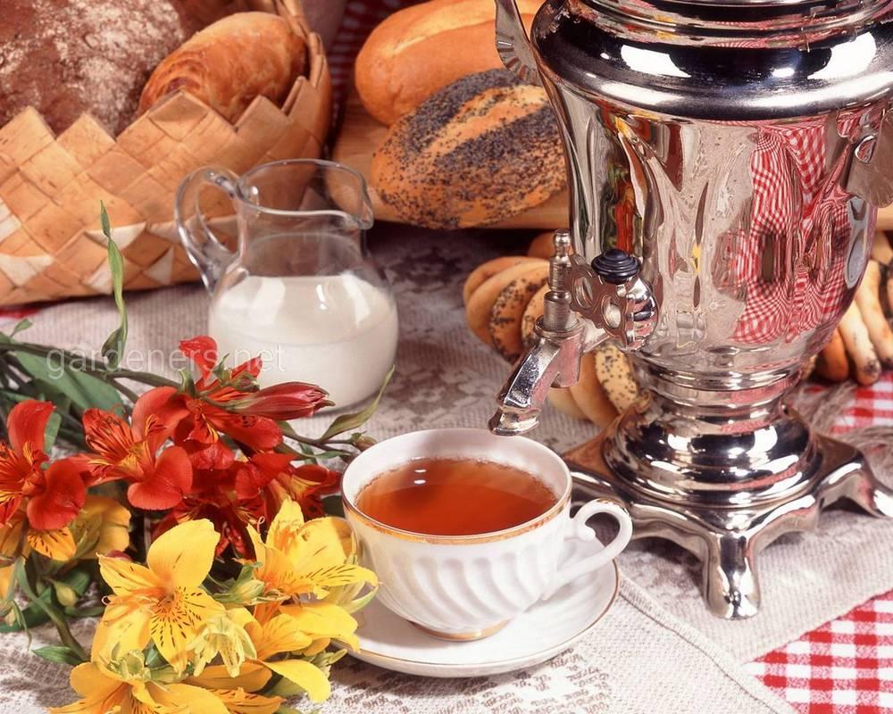 Традиції чаювання в Росії