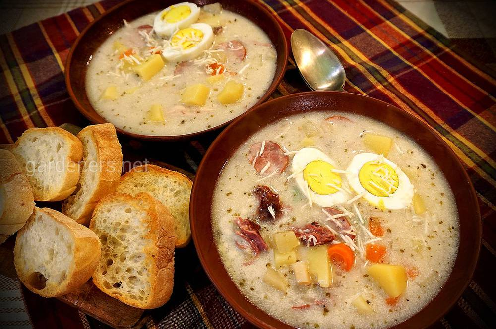 Суп Журек