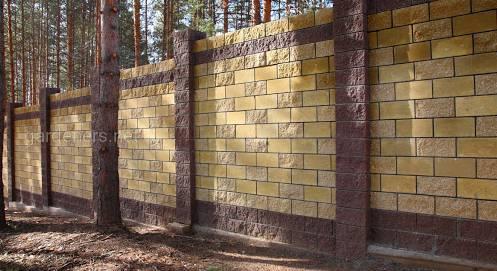 Забор из бессера: в чем его преимущества и как построить