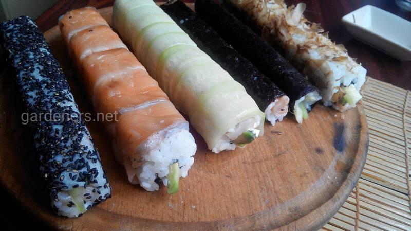 Такие простые...суши