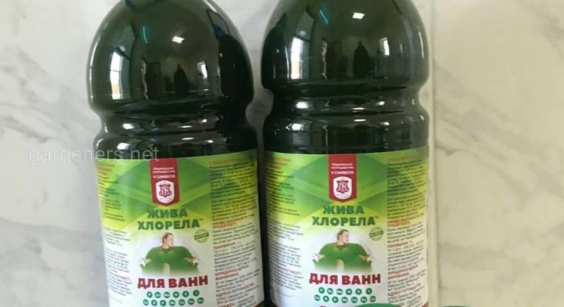 Суспензія хлорели(жива) для ванн 1л