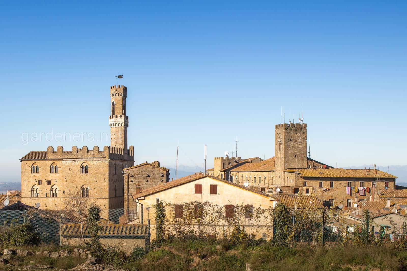 Volterra town, Toscana