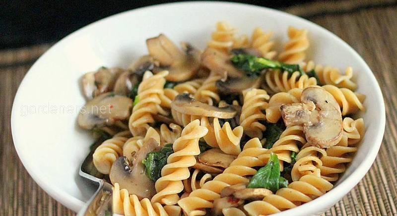 Как приготовить макароны с грибами
